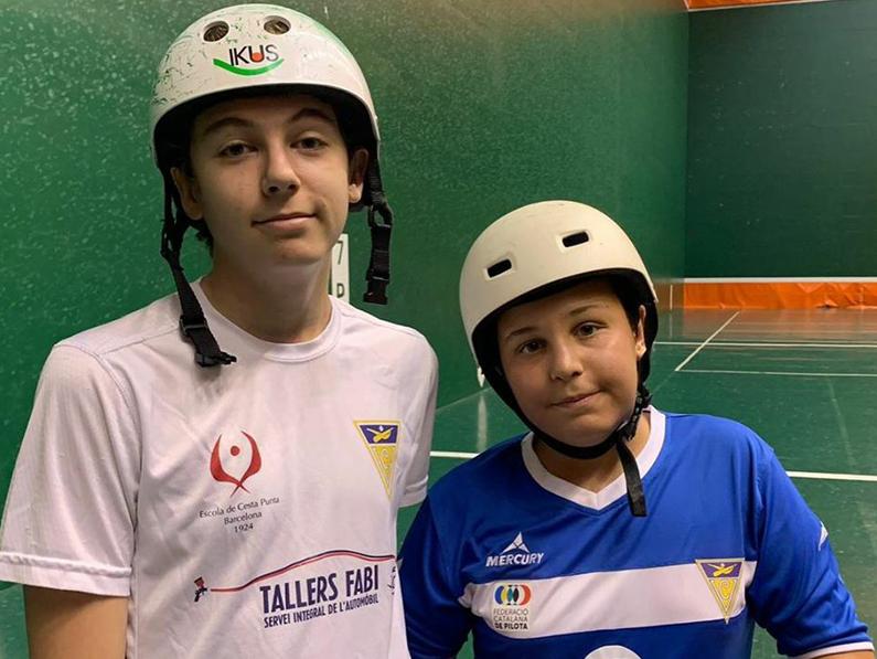 Artur Almaraz i Dani López, Campions de Catalunya de Cesta Punta de 3ª categoria