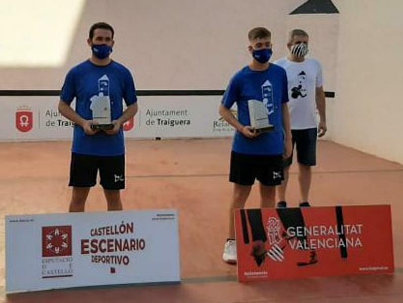 Andoni Arrasate i Asier Arribas, subcampions del Campionat de FRARE