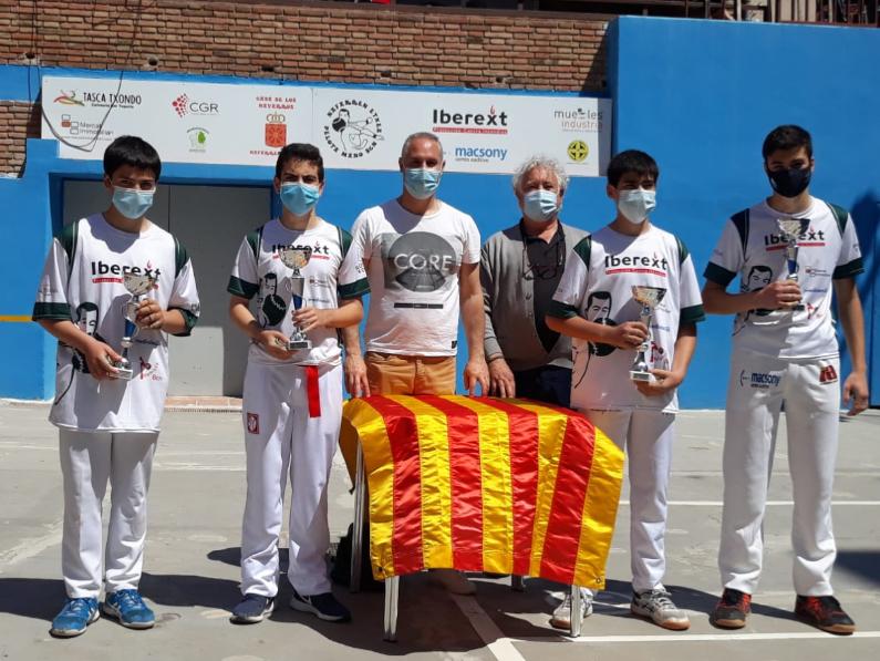 Finals Campionat de Catalunya de Mà Parelles en categories Aleví i Infantil